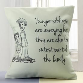 cute personalized cushion