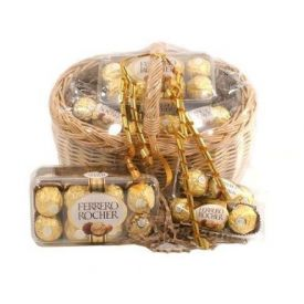 Big Basket of Ferrero Rocher