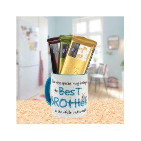 Best Bro ? Mug with Chocolates
