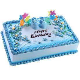 3 KG Baby boy cake