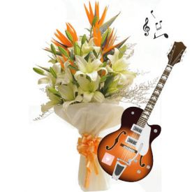 music flower and beloved