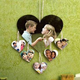 Heart Shape Photo frame