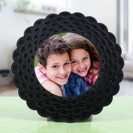 Personalized Round photo Frame