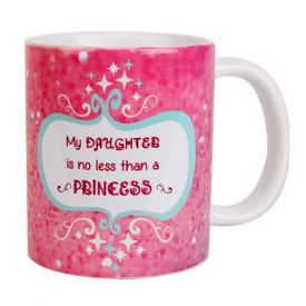 Princess Themed Pink Mug