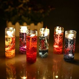 Pencil decorative candles 6 PCS