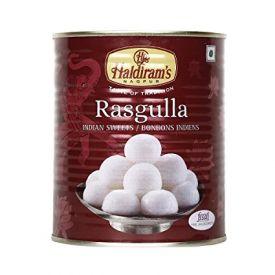 Haldiram's Nagpur Rasgulla Tin, 500g