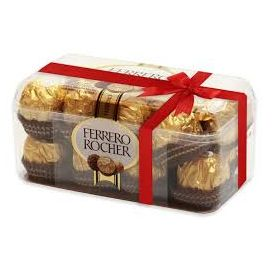 Ferrero Rocher ChocolaFerrero Rocher Chocolate Box(16 pcs)te Box