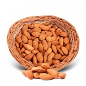 Almonds with basket(1 Kg)