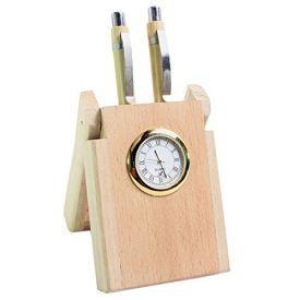Clock N Pen Stand