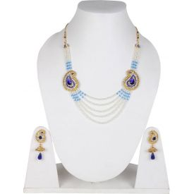 Jewelry Set (White and blue)