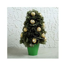 Ferrero rocher gift tree