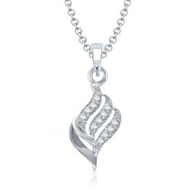 Silver Pendant for girls With Chain Pendants
