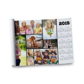 Personalized Calender with Multiple Photos