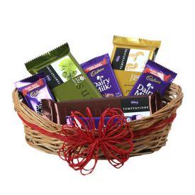A Basket Of Sweet Chocolates