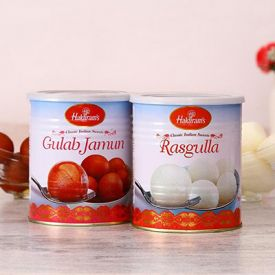 Yummy Rasgulla and Gulab Jamun Pack