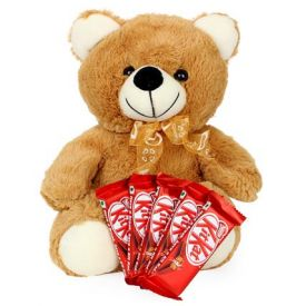Teddy And Chocolate Love