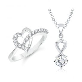 Heart shape Ring and pendant