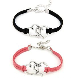 Crunchy Fashion Multicolor Bracelet For Women & Men