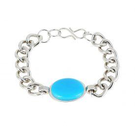 Grandiose Turquoise Stone Salman Khan Bracelet