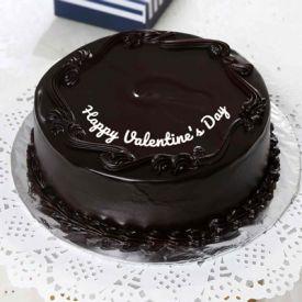 Valntine day cake