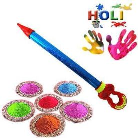 Pichkari With Holi Colour Combo