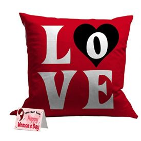 Women's day special love cushion