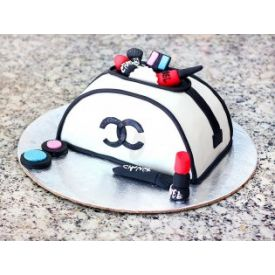 Make up kit fondant cake 2 kg