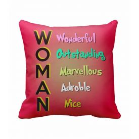 Happy women's day cushion