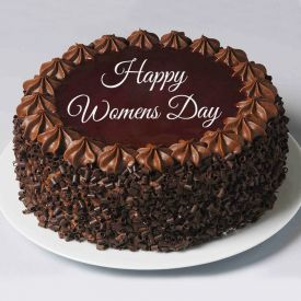 Woman day special chocolate truffle cake 1 Kg