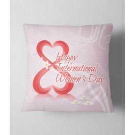 Beautiful cushion for women's day