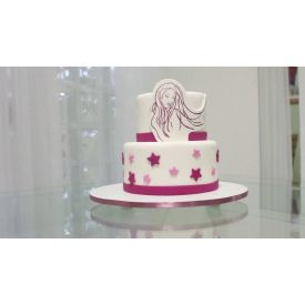2 tier happy woman day cake 3 Kg
