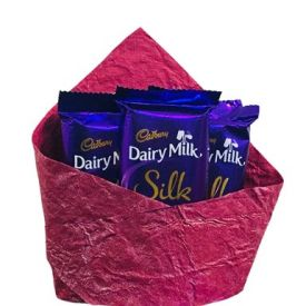 Dairy Milk Silk Special Arrangement