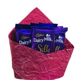 Dairy Milk Silk Special Arrangement