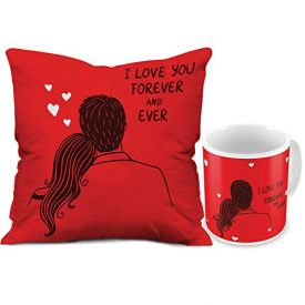 Sweet Cushion & Mug Combo