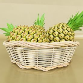 Basket of Pineapple