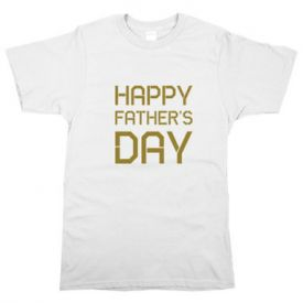 Father's day printed t Shirt
