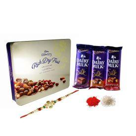 Chocolates with Rakhi