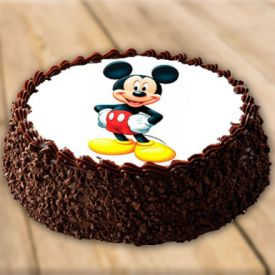 Chocolate Cake Mickey Mouse