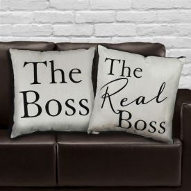 Boss Printed Cushion