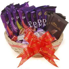 Mixed Chocolates Basket
