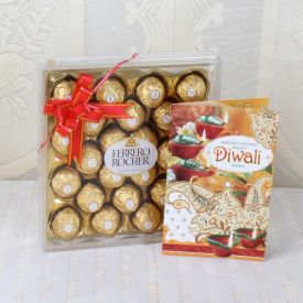 Ferrero Rocher With greeting card