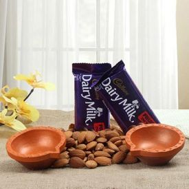 Dry Fruits With Choco And Diya