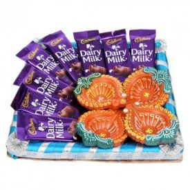 Chocolates With Diyas