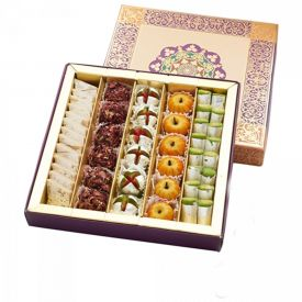 Box of 1 kg Kaju Mixed Sweets
