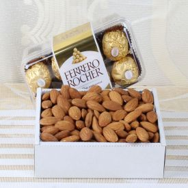 Almond With Ferrero Rocher