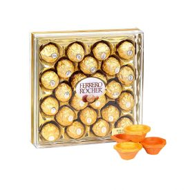 Ferrero Rocher with Diya
