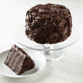 Choco Flower Cake
