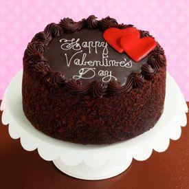Choco valentine cake