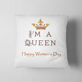 I am a queen cushion