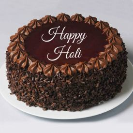 Holi chocolate cake